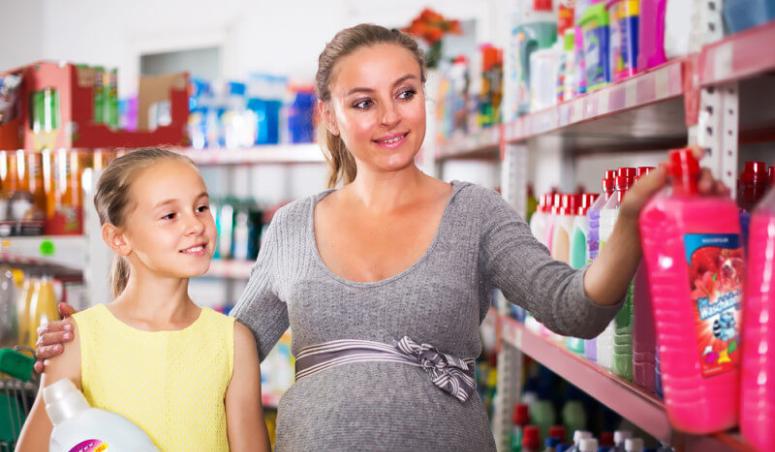 Chemia zagraniczna - sprzedaż w sklepie